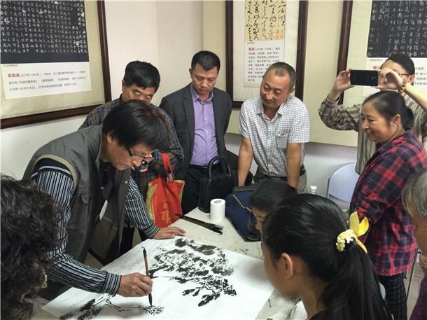 北京南北书画院举办首期全国书画普及公益班
