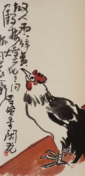 骆风-水墨作品六-骆风书画作品欣赏