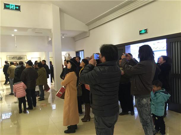 北京南北书画院举办首届学术年展 全国百余件书画精品汇聚金温江