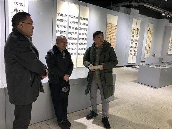 落墨有痕——四川民族學院成功舉辦首屆書畫作品年展